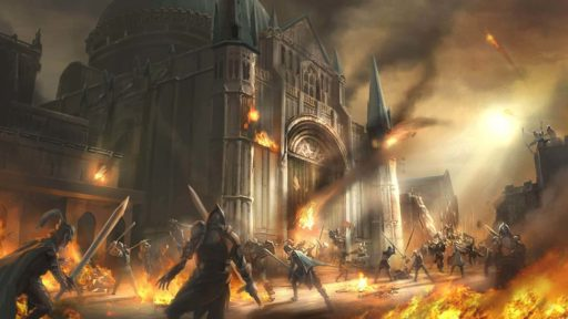 Осада замка в Ashes of Creation