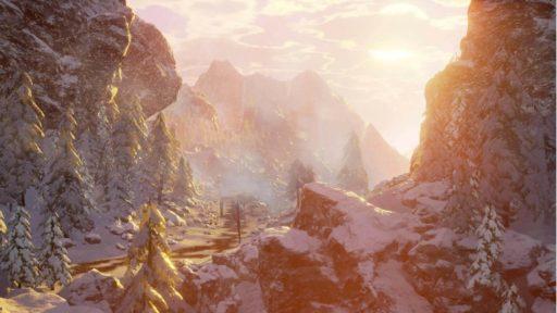 Зима в Ashes of Creation