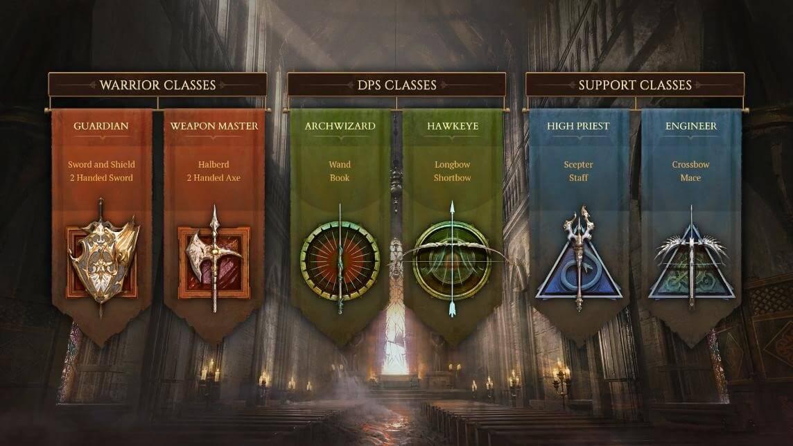 Siege classes