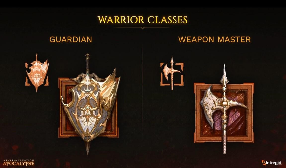Warrior classes
