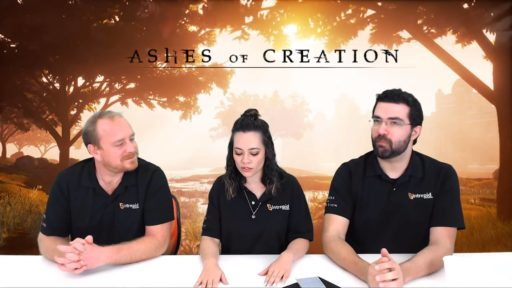 Стрим Ashes of Creation